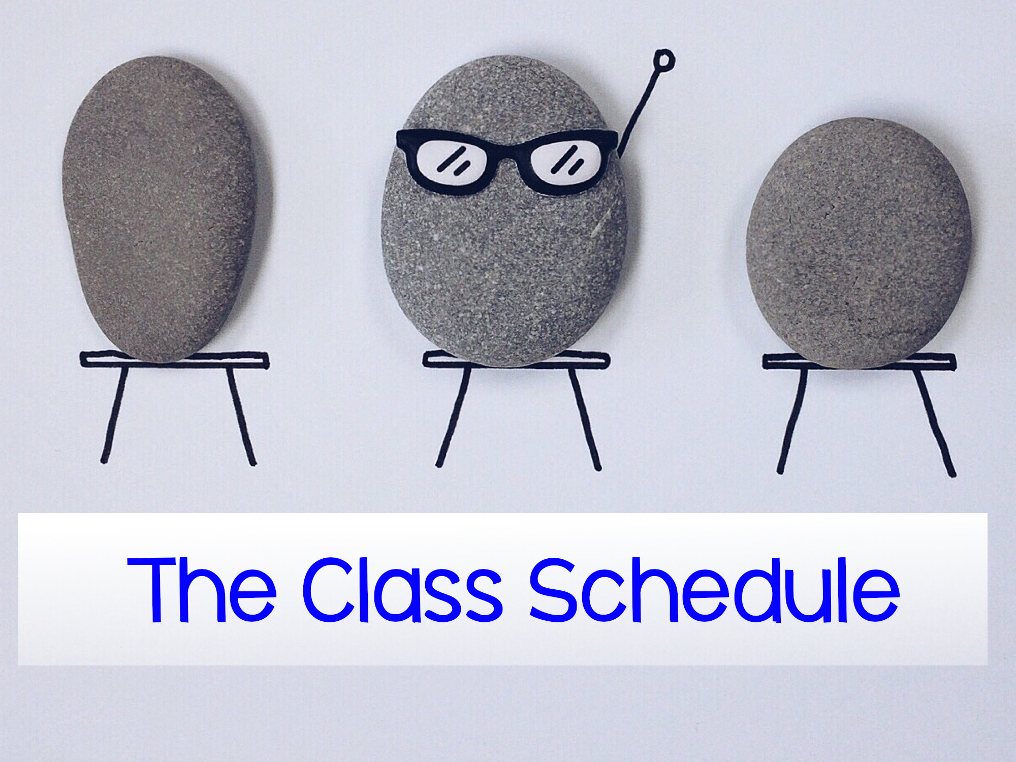 The Class Schedule [link]