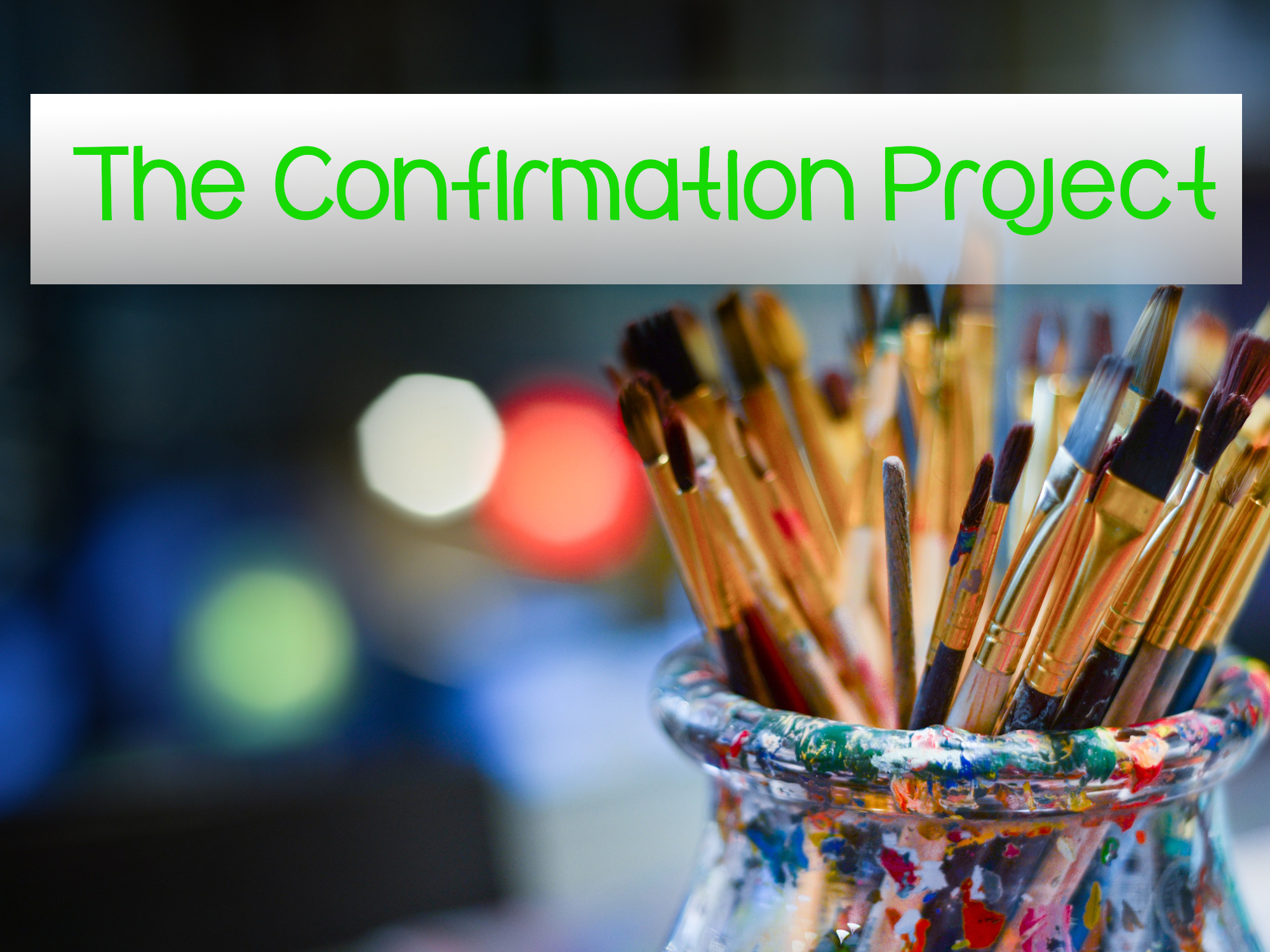 The Confirmation Project [link]